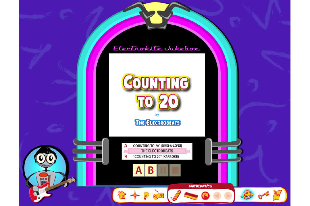 Count to 20 App