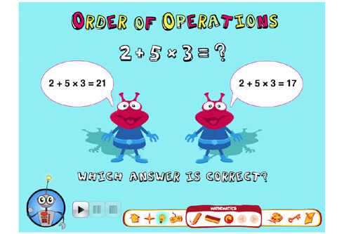 Order of Operations App